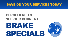 Brake Specials, Brake Repair in Sherman TX